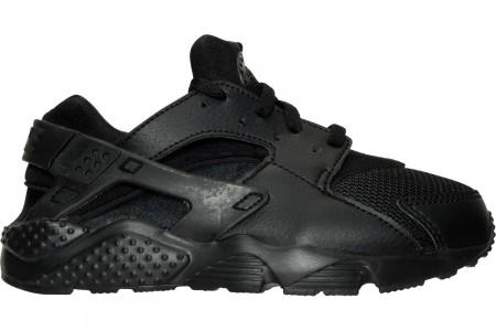 Nike Boys' Little Kids' Nike Huarache Run Casual Shoes - Black/Black/Black
