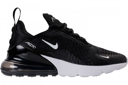 Nike Women's Air Max 270 Casual Shoes - Black/Anthracite/White