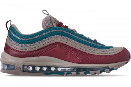Nike Men's Air Max 97 SE Casual Shoes - Lite Taupe/Team Red