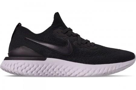 Nike Women's Epic React Flyknit 2 Running Shoes - Black/Black/Anthracite/Gunsmoke/White