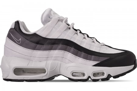 Nike Women's Air Max 95 Casual Shoes - Black/Gunsmoke/Platinum Tint/Summit White