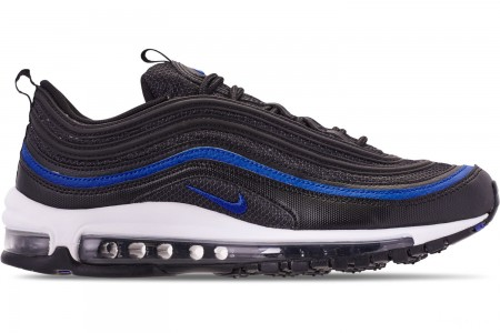 Nike Men's Air Max 97 OG Casual Shoes - Anthracite/Black/Racer Blue