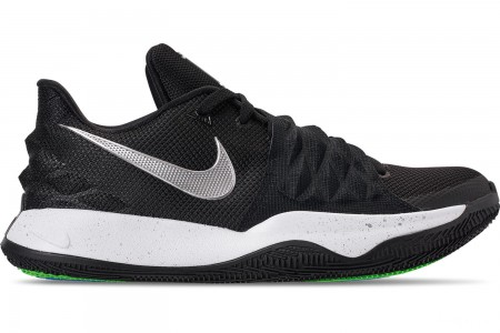 Nike Men's Kyrie Low Basketball Shoes - Black/Metallic Silver/White