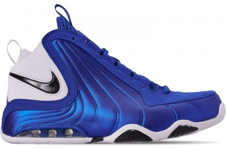 Nike Men's Air Max Wavy Basketball Shoes - Game Royal/Black/White