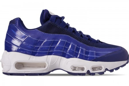Nike Women's Air Max 95 SE Casual Shoes - Blue Void/Blue Void/Summit White