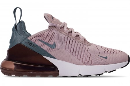Nike Women's Air Max 270 Casual Shoes - Particle Rose/Celestial Teal/Parachute