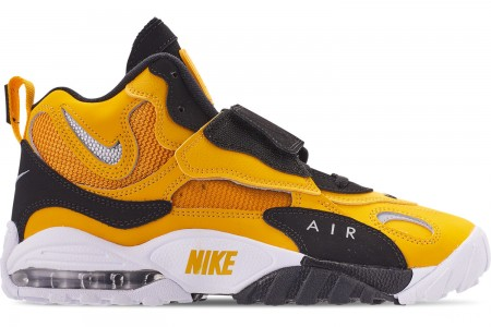 Nike Men's Air Max Speed Turf Casual Shoes - University Gold/Metallic Silver/White