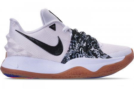 Nike Men's Kyrie Low Basketball Shoes - White/Black/Gum