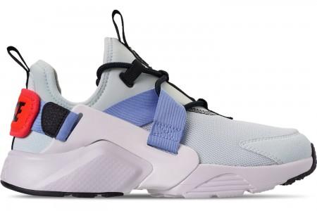 Nike Women's Nike Air Huarache City Low Casual Shoes - Ghost Aqua/Black/Summit White