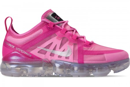 Nike Women's Air VaporMax 2019 Running Shoes - Active Fuchsia/Laser Fuchsia