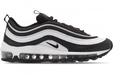 Nike Women's Air Max 97 Casual Shoes - Black/Black/White/Black