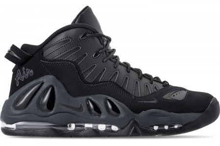 Nike Men's Air Max Uptempo '97 Basketball Shoes - Black/Anthracite