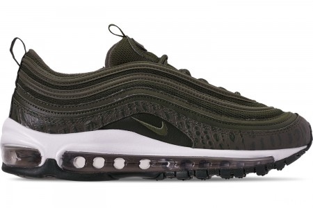 Nike Women's Air Max 97 Lux Casual Shoes - Cargo Khaki/Cargo Khaki/Sequoia