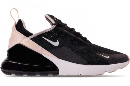 Nike Women's Air Max 270 Casual Shoes - Black/Light Bone/Light Bone