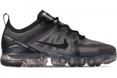 Nike Men's Air VaporMax 2019 Running Shoes - Triple Black