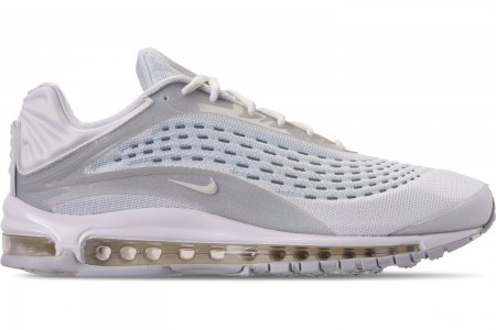 Nike Unisex Air Max Deluxe Casual Shoes - White/Sail/Pure Platinum