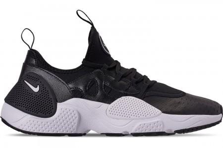 Nike Men's Nike Huarache E.D.G.E. Leather Running Shoes - Black/White