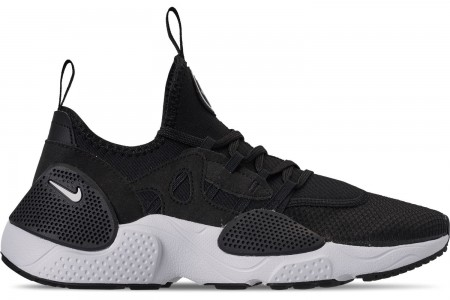 Nike Men's Nike Huarache E.D.G.E. TXT Running Shoes - Black/White/Black