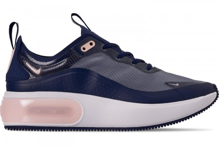 Nike Women's Air Max DIA Special Edition Casual Shoes - Blue Void/Crimson Tint/True Berry