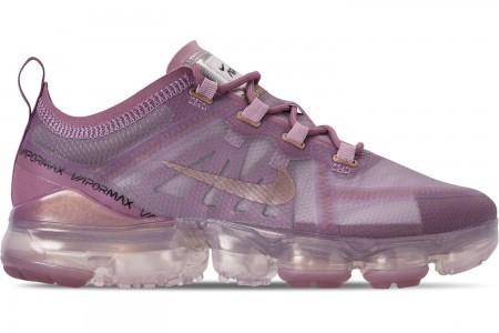 Nike Women's Air VaporMax 2019 Running Shoes - Plum Chalk/Metallic Red Bronze/Plum Dust