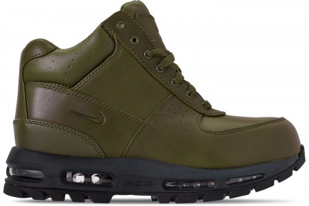 Nike Men's Air Max Goadome Boots - Olive Canvas/Anthracite