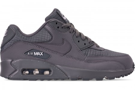 Nike Men's Air Max 90 Essential Casual Shoes - Cool Grey/White