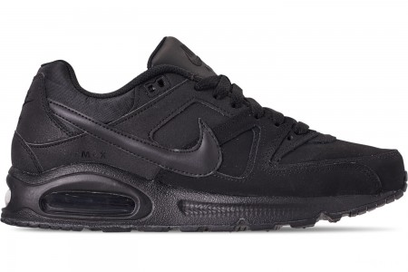 Nike Men's Air Max Command Leather Casual Shoes - Black/Anthracite/Neutral Grey
