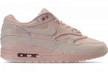 Nike Women's Air Max 1 Lux Casual Shoes - Guava Ice/Guava Ice/Guava Ice