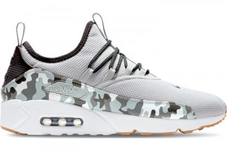Nike Men's Air Max 90 EZ Casual Shoes - Wolf Grey/Black/White/Dark Grey
