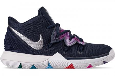 Nike Boys' Big Kids' Kyrie 5 Basketball Shoes - Multi Color