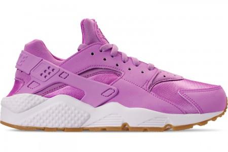 Nike Women's Nike Air Huarache Run FG Casual Shoes - Fuchsia Glow/Fuchsia Glow/Gum Light