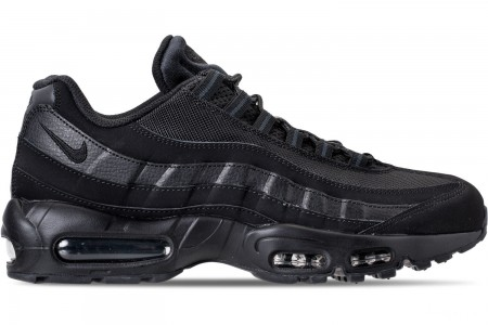 Nike Men's Air Max 95 Casual Shoes - Black/Anthracite