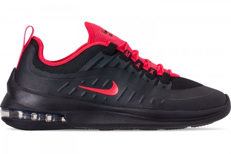 Nike Men's Air Max Axis Casual Shoes - Black/Red Orbit