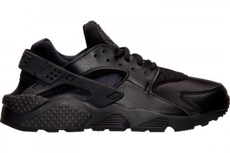 Nike Women's Nike Air Huarache Casual Shoes - Black/Black