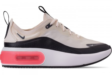 Nike Women's Air Max DIA Special Edition Casual Shoes - Pale Ivory/Black/Summit White