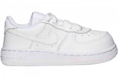 Nike Kids' Toddler Air Force 1 Low Casual Shoes - White