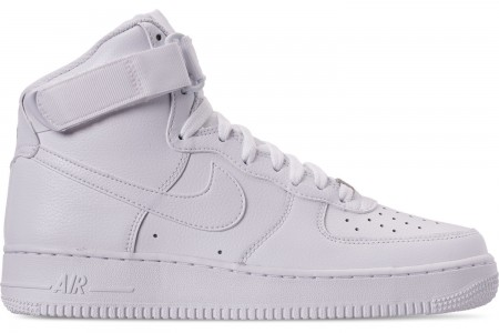 Nike Men's NBA Air Force 1 High 07 Casual Shoes - White/White