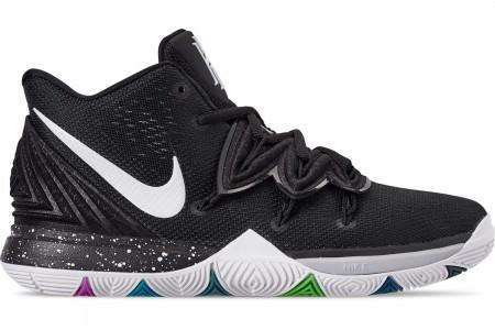 Nike Boys' Big Kids' Kyrie 5 Basketball Shoes - Multi-Color/White