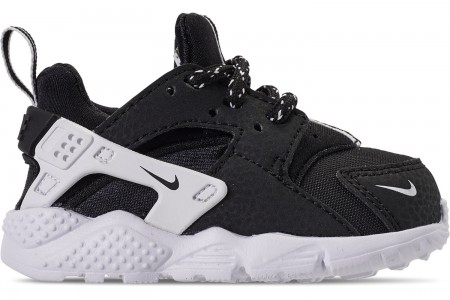 Nike Boys' Toddler Nike Huarache Run SE Casual Shoes - Black/Black/White