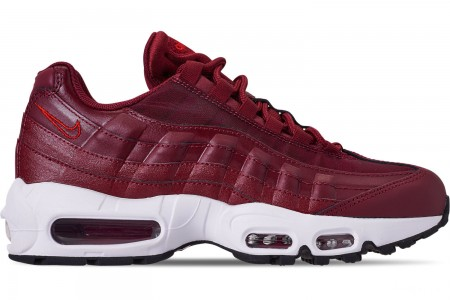 Nike Women's Air Max 95 Casual Shoes - Team Red/Black