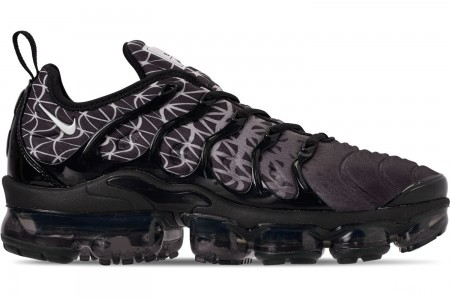 Nike Men's Air VaporMax Plus Running Shoes - Black/White