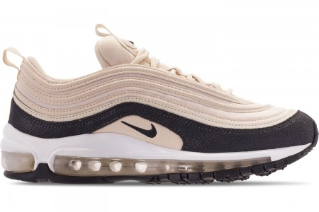 Nike Women's Air Max 97 Premium Casual Shoes - Light Cream/Oil Grey/Light Cream