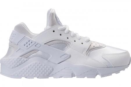 Nike Women's Nike Air Huarache Casual Shoes - White/White