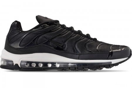 Nike Men's Air Max 97/Plus Casual Shoes - Black/Anthracite/White