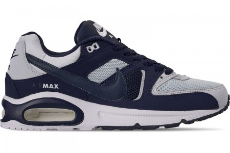 Nike Men's Air Max Command Mesh Casual Shoes - Pure Platinum/Armory Navy/Midnight