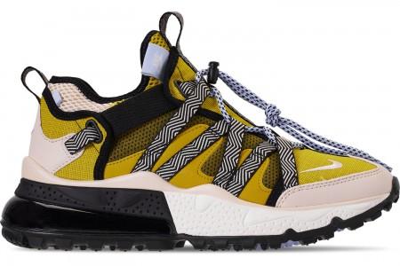 Nike Men's Air Max 270 Bowfin Casual Shoes - Dark Citron/Light Cream/Bright Citron/Royal