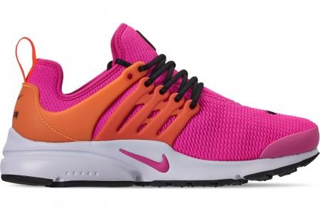 Nike Women's Air Presto Casual Shoes - Laser Fuchsia/Black/Laser Orange