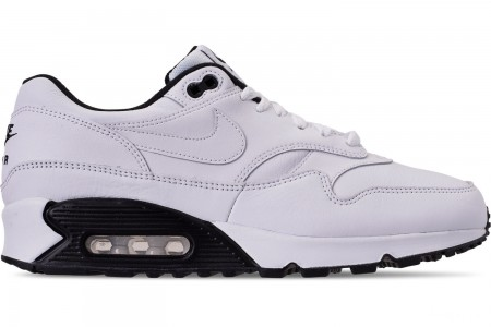 Nike Men's Air Max 90/1 Casual Shoes - White/Black