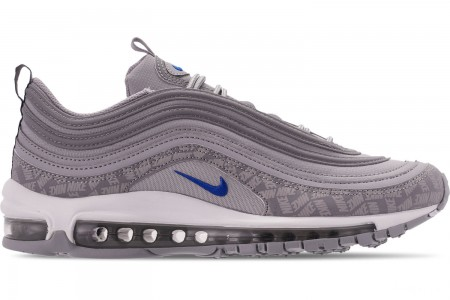Nike Men's Air Max 97 WE Casual Shoes - Wolf Grey/Game Royal