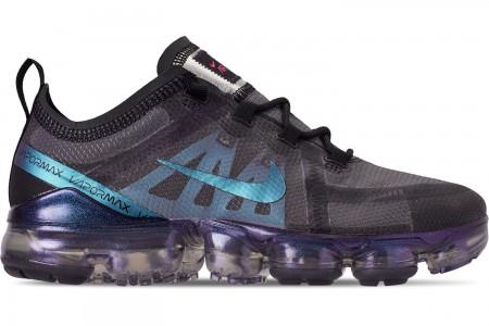 Nike Women's Air VaporMax 2019 Running Shoes - Black/Laser Fuchsia/Anthracite